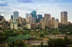 Edmonton, Alberta, Canada-Have been, twice. The mall is huge! No mashed potatoes or biscuits at Kfc in Canada though :) Great Places, Places Ive Been, Places To Go, Canada Mountains, Western Canada, The Province, Travel Goals, Capital City, Seattle Skyline