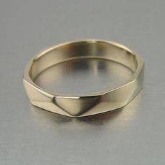 Hadar Weddings Exclusive 14k White Gold Men by HadarWeddings, $689.00