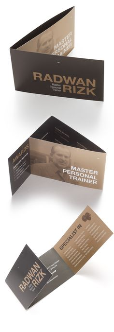 Master Trainer Collateral by Nour S. Kanafani , via Behance