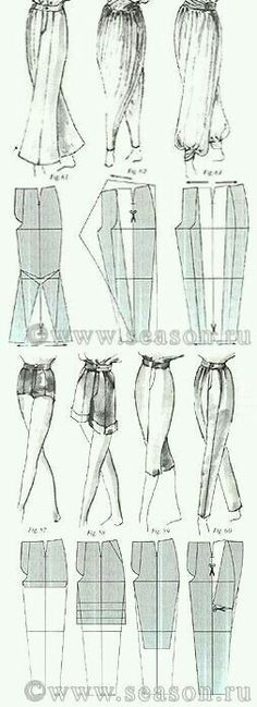 ♥ Deniz ♥ - Best Sewing Tips Sewing Dress, Sewing Pants, Sewing Clothes, Diy Clothing, Clothing Patterns, Dress Patterns, Sewing Patterns, Techniques Couture, Sewing Techniques