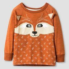 Baby Boys' Fox Crew T-Shirt - Fall Maple - Genuine Kids™ from Oshkosh®