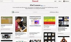 iPad Lessons Pinboard