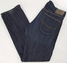 Men Levis Levi's Strauss Signature Slim Straight Jeans Dark Wash sz 34 X 32 #LeviStraussSignature #SlimStraight