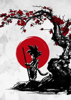 Displate Poster Saiyan under the sun goku <<< Wow! I have a shirt with this pic on it and I was caught way off guard by seeing this now. Dragon Ball Gt, Goku Dragon, Kid Goku, Dragonball Anime, Z Tattoo, Super Anime, Anime Naruto, Manga Anime, Illustration