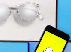 Warby Parker's Snapchat-Exclusive Sunglasses Available Only to its Snapchat Followers. l #snapchat #sunglasses