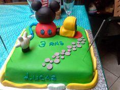 Peggy et ses petits plaisirs gourmands: Gâteau d'anniversaire La Maison de Mickey