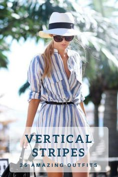 Stripes are popular this spring. And there's a reason why – just check these 25 outfits with vertical stripes. You will undoubtedly get a lot of inspiration from the outfits ideas we've rounded up.