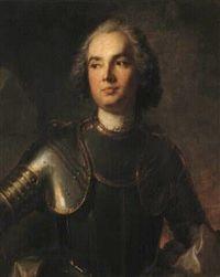 Charles Guillaume Louis de Broglie, Marquis de Broglie (1716 - 1786). Lt.-Gal. des Armées du Roi. Fils du marquis Charles Guillaume de Broglie et petit-fils du maréchal-comte Victor Maurice de Broglie. Cousin germain du 2e. duc de Broglie, maréchal de France.