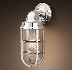 Scone style Kelly likes.   Starboard Sconce