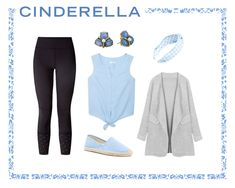 Athleisure Outfits - Cinderella  Leggings: Lululemon, Earrings: Kate Spade, Headband: L. Erikson, Top: Mango, Shoes: Soludos, Cardigan: NewChic
