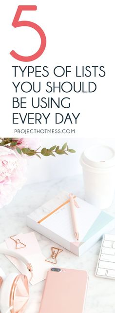 Everyone knows about the humble to do list, but do you use lists in other ways? These are the types of lists you should be using every day to help focus, be more productive and feel more organised. List Making | Budgeting | Organisation | Meal Planning | To Do Lists | Keeping Organised | Productivity | Business | Budgets | Self Care | Gratitude