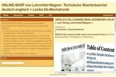 ebook + software online shop: technisches englisch + Lexika mechatronik + Lernkarten-Trainer edvFrage an den InserentenSteigern Sie den Erfolg Ihrer Anzeige