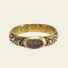 This spectacular and rare mourning ring was made in the first years of what is…
