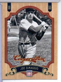 2012 Panini Cooperstown Baseball Card # 113 Joe DiMaggio