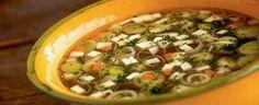 Fransk kødsuppe
