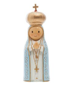Another great find on #zulily! Our Lady of Fatima Figurine #zulilyfinds
