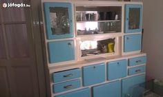 Akciós retró konyhabutor eladó China Cabinet, Storage, Furniture, Home Decor, Purse Storage, Decoration Home, Chinese Cabinet, Room Decor, Larger