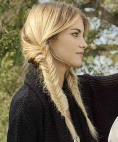 Mane-Spiration: Pinterest's Best Fishtail Braids Have Us Falling In Love