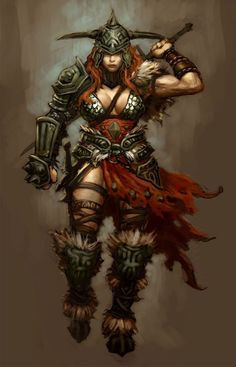 Barbarian Female - Pictures