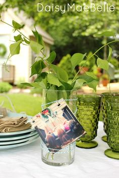4 Ways to Decorate a Plain Vase for a Garden Party   daisymaebelle