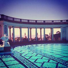 Neptune Pool at Hearst Castle