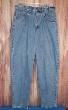 Levi's SilverTab Baggy Fit Denim Mens Jeans Size 33x34 Med Wash #11 #SilverTab #BaggyLoose