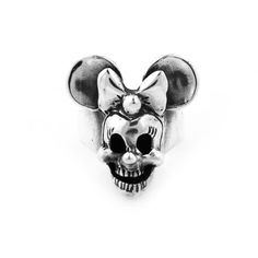 Minnie Mouse Skull Ring-Can't find this anywhere :( I want to get it for you @Lilly Melanson-Ruiz