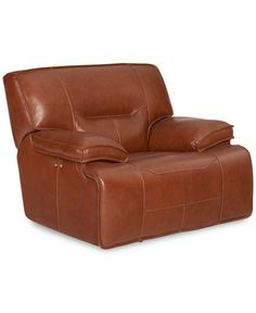 Closeout Beckett Leather Glider Recliner Created For Macy S
