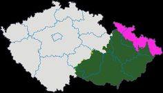 Ubytovn echy, Morava a Slezsko