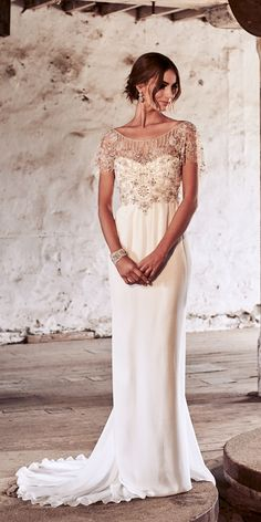 Amazing Anna Campbell 2018 Wedding Dresses ❤ See more: http://www.weddingforward.com/anna-campbell-2018-wedding-dresses/ #weddingforward #bride #bridal #wedding