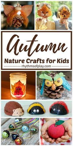 Best Fall Nature Crafts