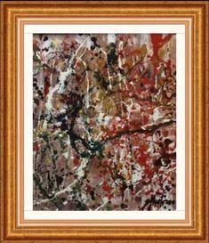 After Jackson Pollock