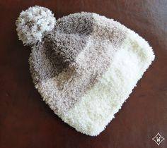 Bonnet-3-chocolats Bonnet Crochet, Knit Crochet, Crochet Hats, Wooly Hats, Knitted Hats, Carters Baby, Baby Winter, Winter Hats, Baby Couture