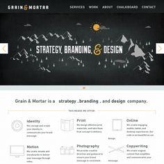 Website 'http://grainandmortar.com/' snapped on Snapito!
