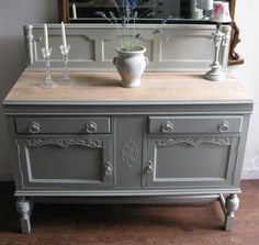 Ordinaire Grey Painted Furniture | Gray Painted Furniture Ideas: Startling Sideboard  Table French Gray .