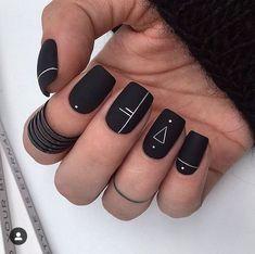 Manis That Will Make You Adore Squoval Nails – Nail Shapes Ideas - Nail art designs Acrylic Nails Coffin Short, Square Acrylic Nails, Best Acrylic Nails, Coffin Nails, Squoval Acrylic Nails, Nail Shapes Squoval, Square Oval Nails, Gradient Nails, Holographic Nails