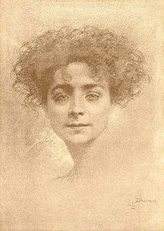 Lucien Levy-Dhurmer - Portrait of a Woman