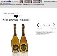 La web Marie Claire recomienda Vin Doré 24K Smartphone, Pulsar, Tablets, Marie Claire, Champagne, Drinks, Bottle, Blog, Pictures