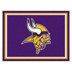 Minnesota Vikings 8x10 Plush Area Rug. Viking MenNfl ... 4a8074192
