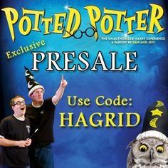 Exclusive Presale for our San Diego friends! Use code HAGRID on Ticketmaster.