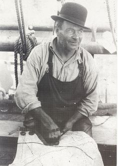 "Sailmaker in ""Archibald Russell"""