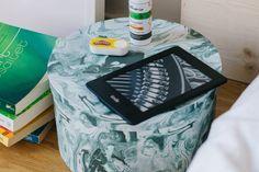 aetherio bio Helferspray gegen überreizt & müde am Familienbett von ivy.li im Einsatz