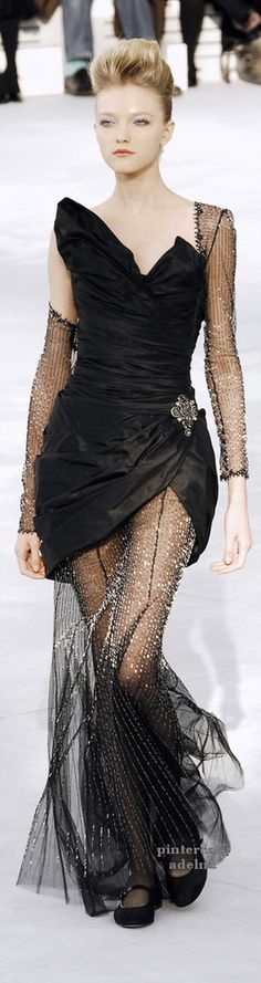 Chanel. Really like the idea of this. Not sure about the execution....