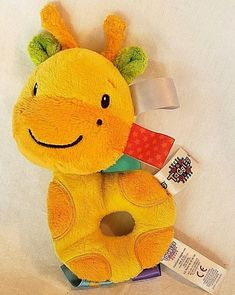 Loyal Carters Yellow Little Duckie Chewable Cuddle Toy 2003 New Feeding