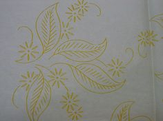Vintage Pattern c.1950's  Embroidery Transfer by Diane