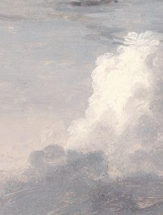 """arsantiquis: """""""" Clouds, Thomas Cole. """" """""""