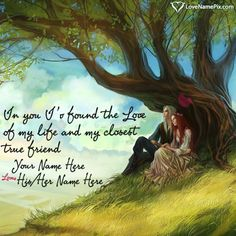 Create beautiful Romantic Love Quotes For Girlfriend with name and surprise your lover , wife  , girlfriend by sending these sweet love images.It is the sweet way to express your feelings and love to your love one