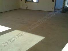 Κολλητό ξύλινο πάτωμα πάνω σε ενδοδαπέδια θέρμανση...