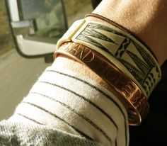Band4Hope with a Himba cuff.