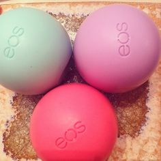 Eos egg shaped lip balm my friend has this and I think it works! im getting some of these soon!!!!!!!!!!